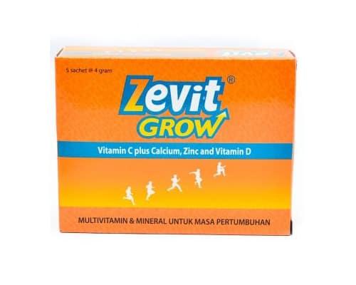 Zevit Grow Multivitamin & Mineral Terbaik