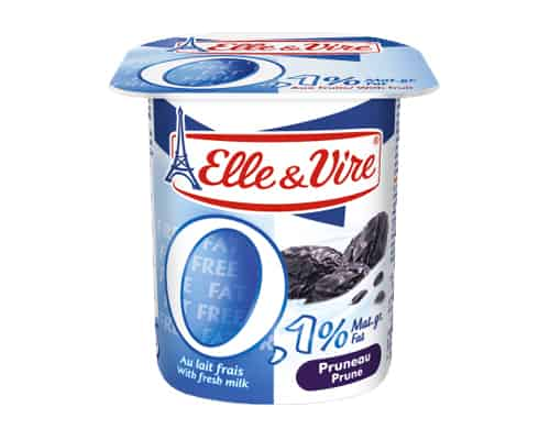 Elle & Vire Dairy Desserts with Fruits 0,1 % Fat