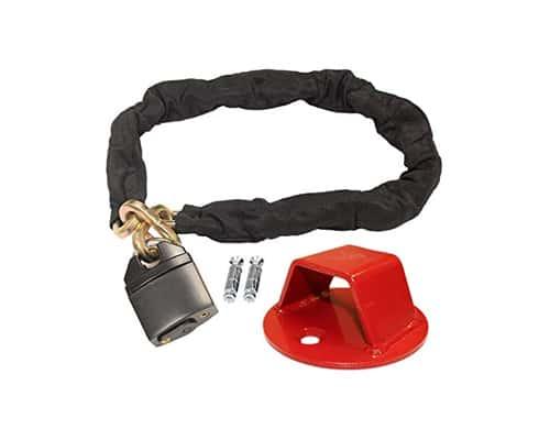 Kunci Pengaman Motor Terbaik Heavy Duty Ground Anchor Lock