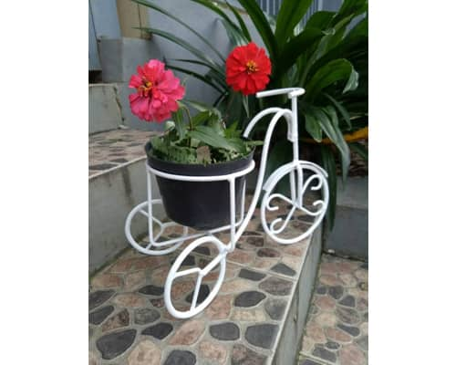 Rak Bunga Model Sepeda