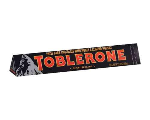 Coklat Terbaik Toblerone Dark Chocolate