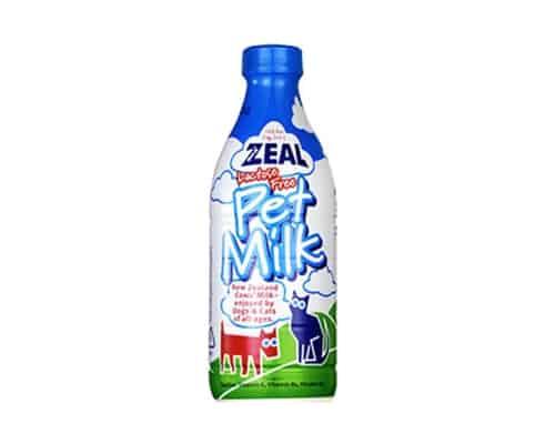 Susu untuk Kucing Zeal Pet Food 100% Natural Lactose Free Pet Milk for Cats & Dogs