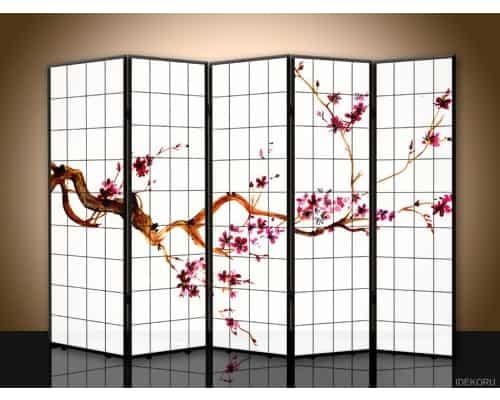 Partisi Ruangan Terbaik iDekoru Sketsel Japanese Sakura