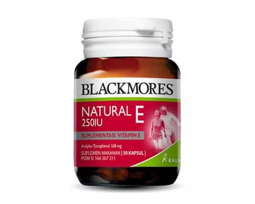Vitamin E Terbaik Blackmores Natural E 250 IU