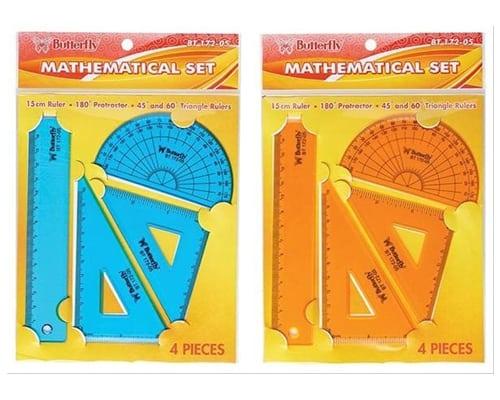 Butterfly Mathematical Set