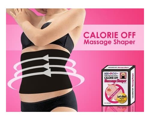 Korset Pelangsing Terbaik Calorie Off Massage Shaper