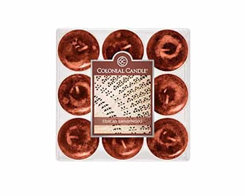 Colonial Candle Tealights Candle Tibetan Sandalwood