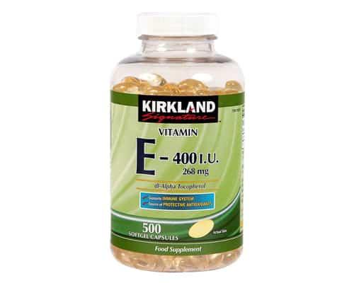 Vitamin E Terbaik Kirkland Signature Vitamin E 400 IU