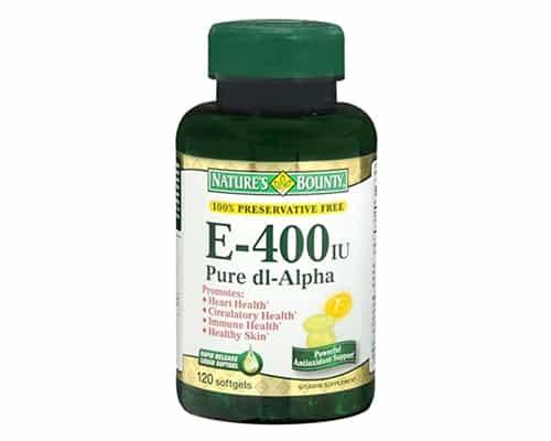 Vitamin E Terbaik Natures Bounty E-400 IU