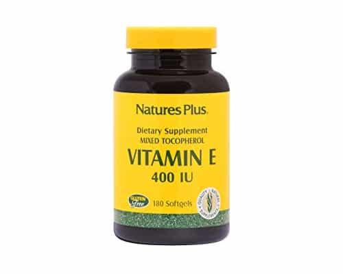 Vitamin E Terbaik Natures Plus Vitamin E 400 IU Mixed Tocopherol Softgels