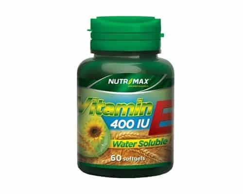 Vitamin E Terbaik Nutrimax™ Vitamin E 400 IU Water Soluble