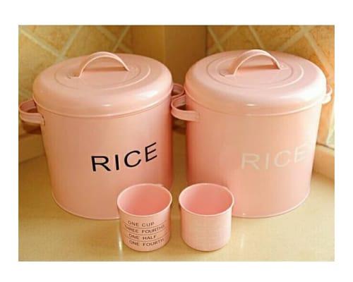 Rice Tin Box