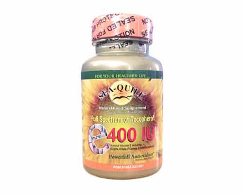 Vitamin E Terbaik Sea-Quill Full Spectrum of Tocopherol E-400 IU