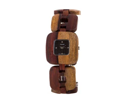 Tense Solid Sandalwood Unisex Watch Natural Wood Watch Retro
