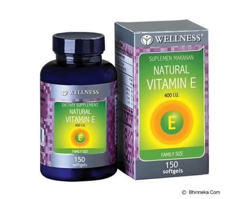 Vitamin E Terbaik Wellness Natural Vitamin E-400 IU