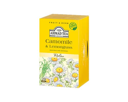 Ahmad Tea of London Camomile & Lemongrass