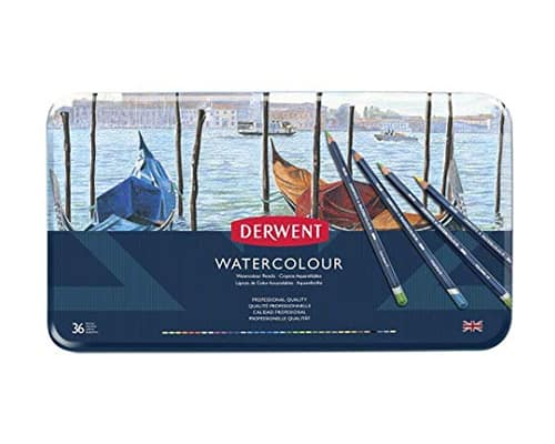 Derwent Watercolour Pencil 36 Tin