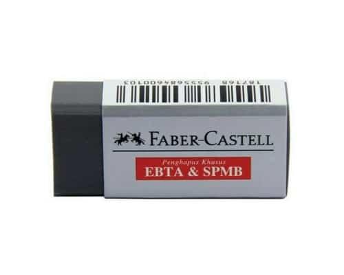 Faber Castell EBTA & SPMB- Penghapus Terbaik