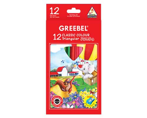 Greebel 12 Classic Colour Triangular Jumbo