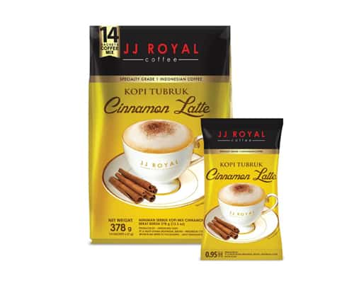 JJ Royal Coffee Kopi Tubruk Cinnamon Latte