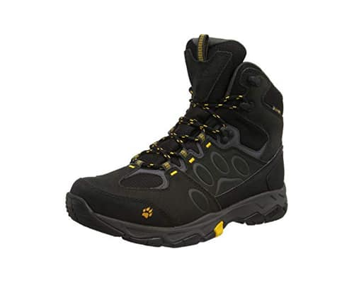 Sepatu Trekking Terbaik Jack Wolfskin Mountain Attack 5 Texapore Mid