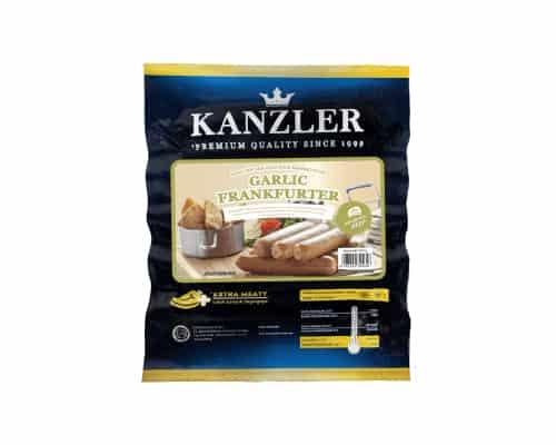 Kanzler Garlic Frankurter - Sosis Terbaik