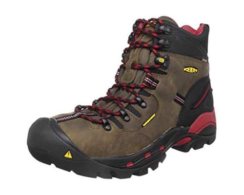 Sepatu Trekking Terbaik Keen Mens Pittsburgh 6 Boot (Soft Toe)