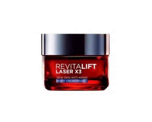 Hadiah ulang tahun untuk ibu Loréal Paris Revitalift Laser X3 Night Cream