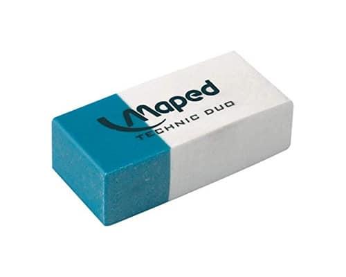 Maped Technic Duo Eraser - Penghapus Terbaik