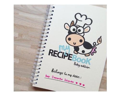 Peekmybook Recipe Book – Baby Edition