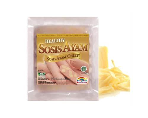 Pelangi Anak Healthy Sosis Ayam Cheesy - Sosis Terbaik