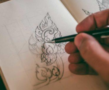 Gambar Ilustrasi Pensil Mekanik