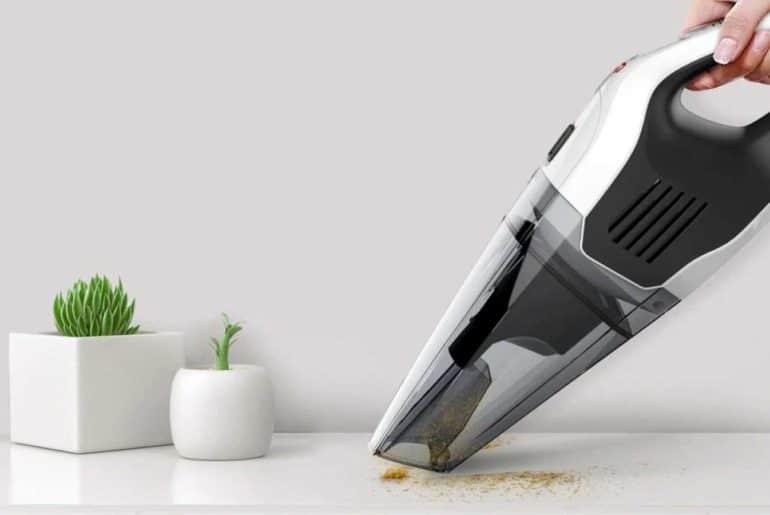 Gambar Ilustrasi Vacuum Cleaner Portable
