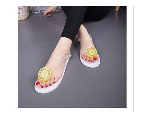 Sandal Pantai Terbaik untuk Wanita Sepatu Sandal Lemon Jelly Shoes