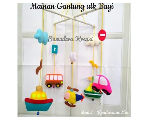 Set Mainan Gantung Bayi