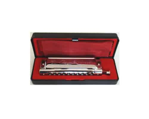Harmonika Terbaik Swan 10 40 Chromatic Harmonica, Round Mouthpiece