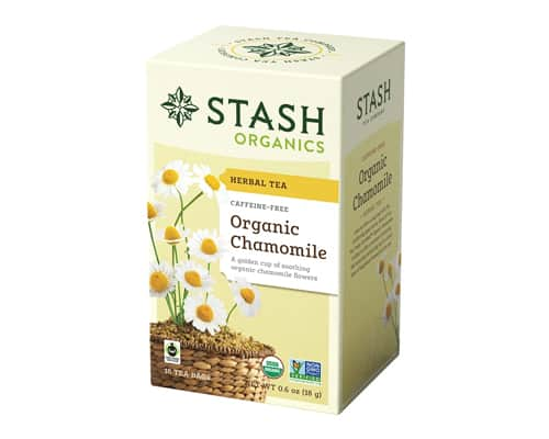 The Stash Tea Organic Chamomile Herbal Tea