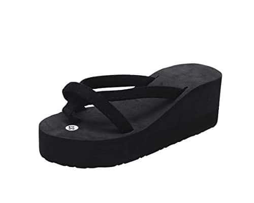 Sandal Pantai Terbaik untuk Wanita Women Sandals Wedge Flip Flops