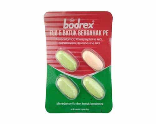 Bodrex Flu dan Batuk berdahak PE