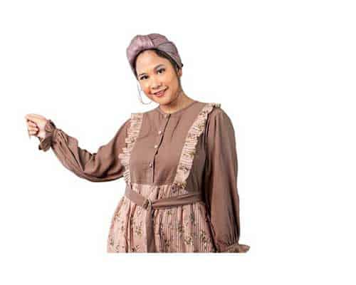 Baju Gamis Wanita Gemuk - BodyBigSize Kayesha Dress