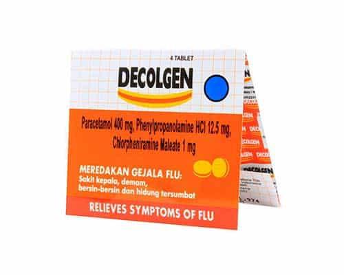 Obat Flu Terbaik Decolgen Flu