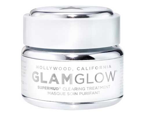 Masker Pengangkat Komedo Terbaik Glamglow Supermud Clearing Treatment Masque