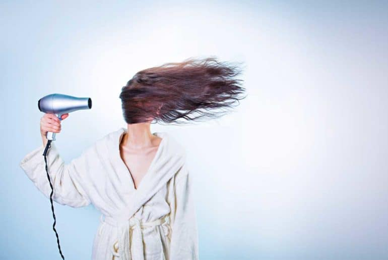 Gambar Ilustrasi Hair Dryer