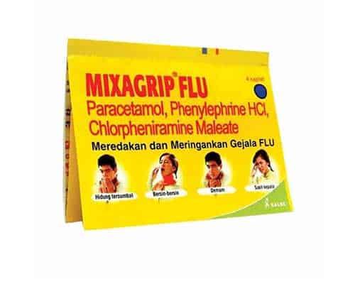 Obat Flu Terbaik Mixagrip Flu