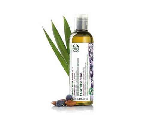 Shampo untuk Mengatasi Rambut Kering The Body Shop Rainforest Radiance Shampoo