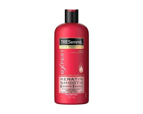 Shampo untuk Mengatasi Rambut Kering Tresemme Shampoo Keratin Smooth