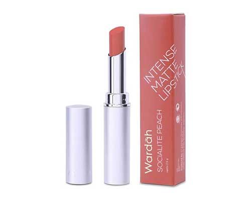 Lipstik Wardah Terbaik - Wardah Intense Matte Lipstick – Socialite Peach