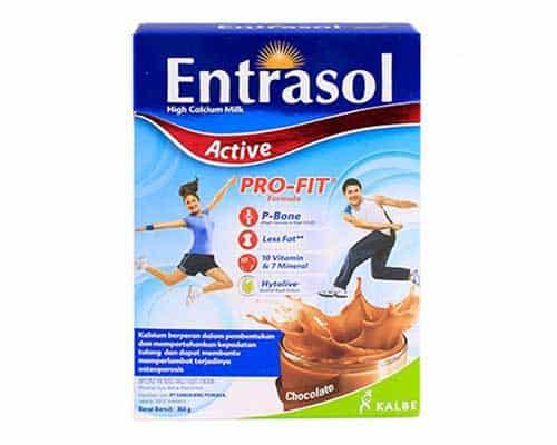 Entrasol Active - Susu Berkalsium Tinggi untuk Kesehatan Tulang