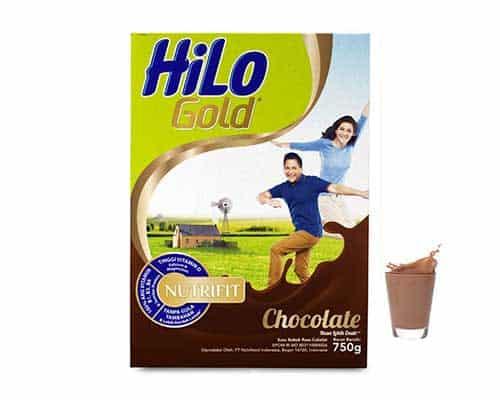 HiLo Gold Chocolate - Susu Berkalsium Tinggi untuk Kesehatan Tulang