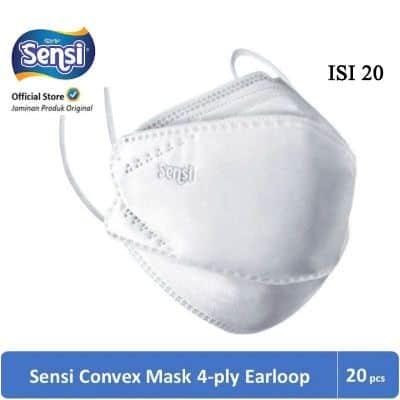 Masker Sensi Convex Mask 4ply Earloop